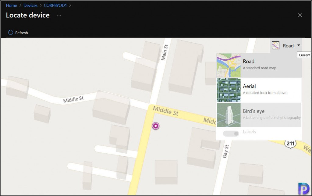 Map View Options