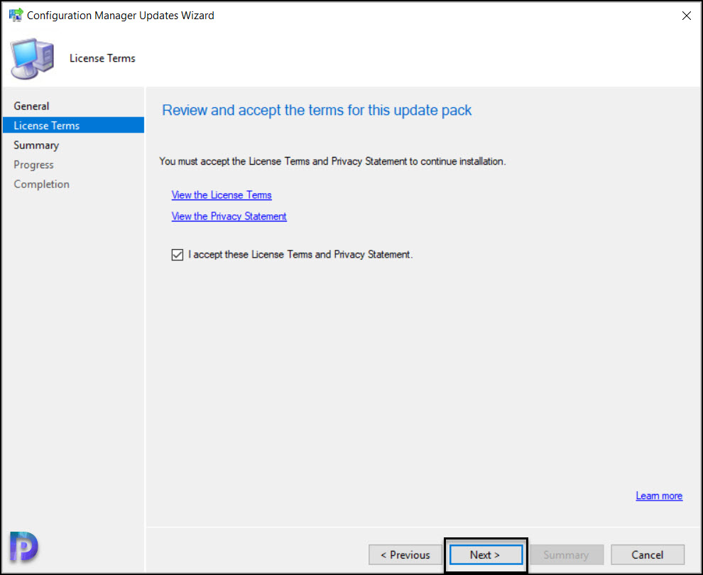 Install ConfigMgr 2103 Hotfix KB9833643