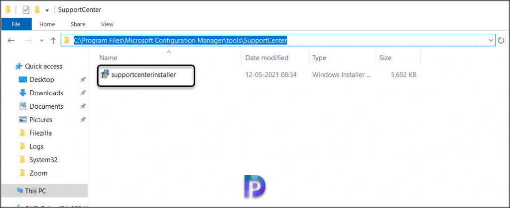 Download Support Center Tool