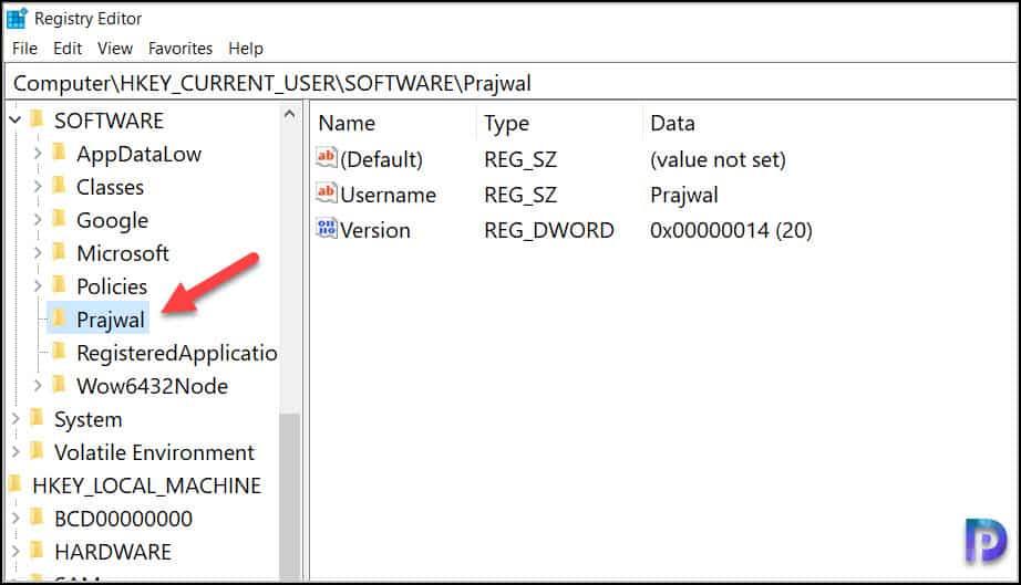 New Registry