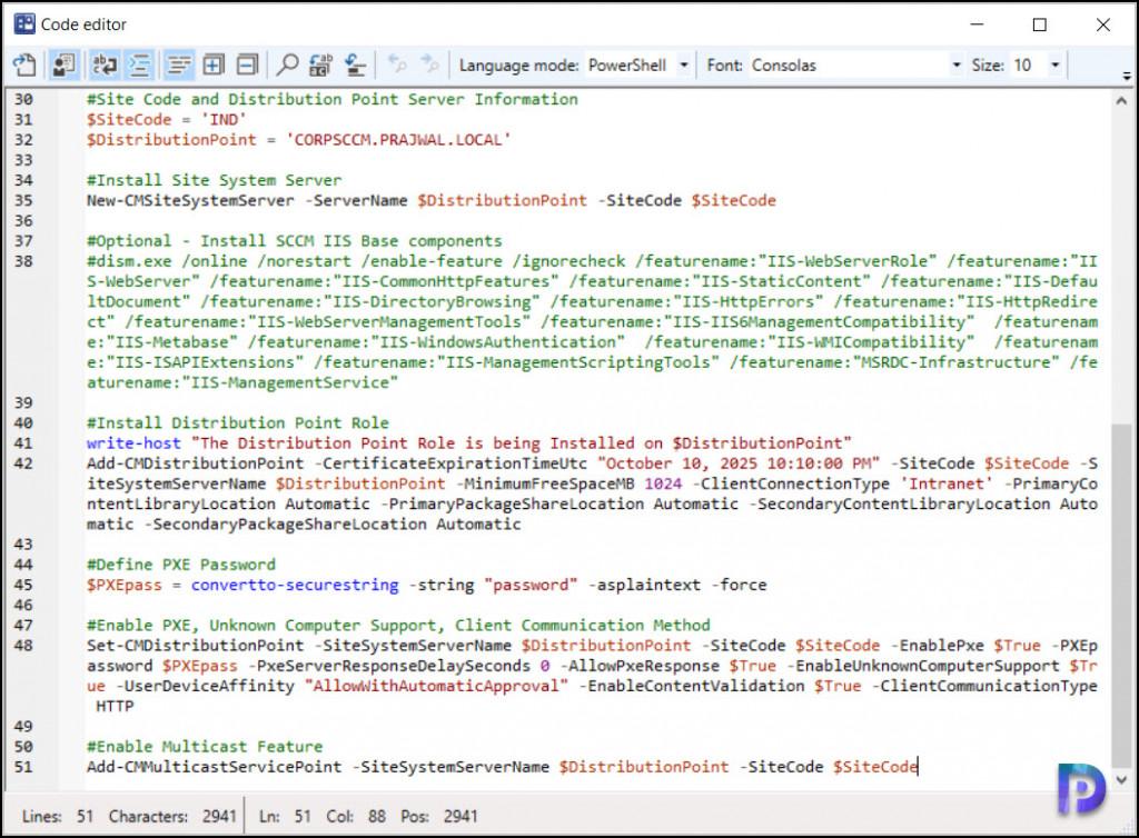 New Enhanced code editor