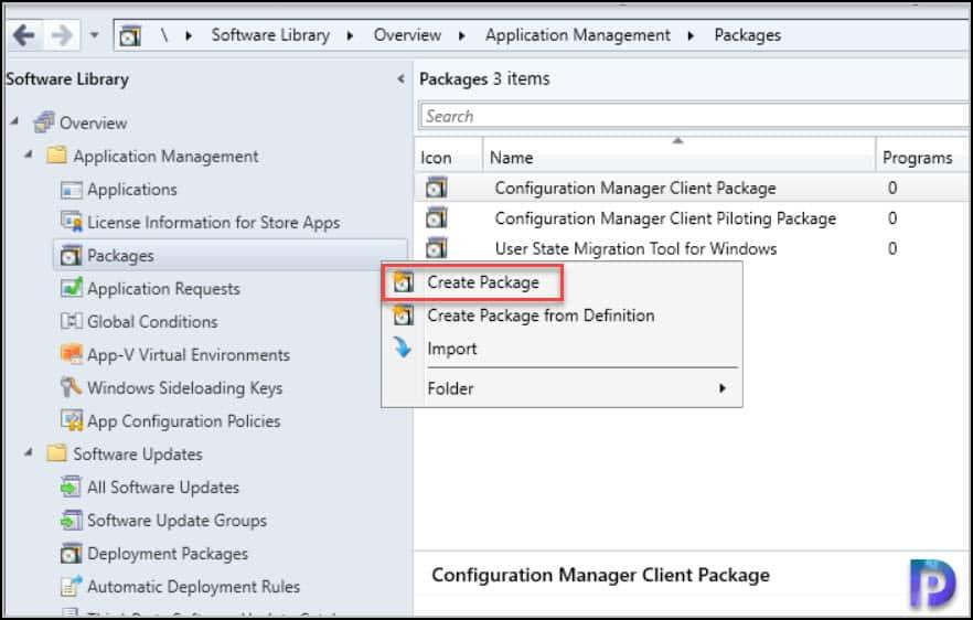 Create .Net Framework 3.5 Package in SCCM