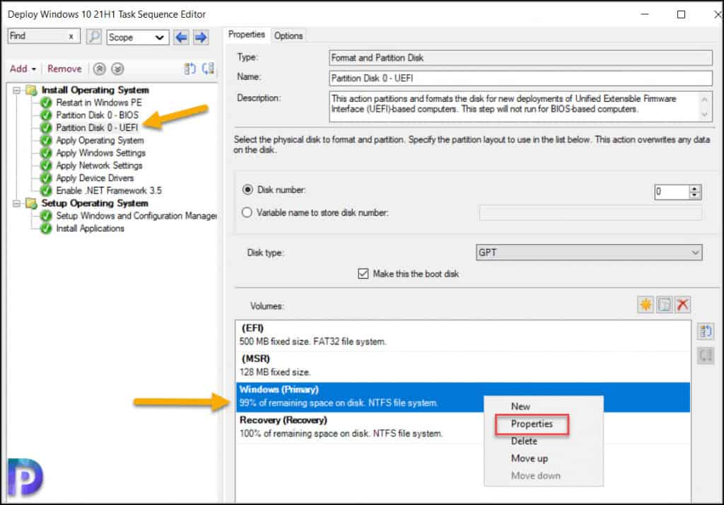 Deploy Dot Net Framework 3.5 using ConfigMgr Task Sequence