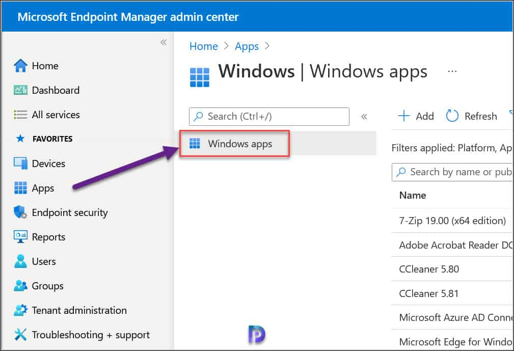 Deploy Microsoft 365 Apps with Intune