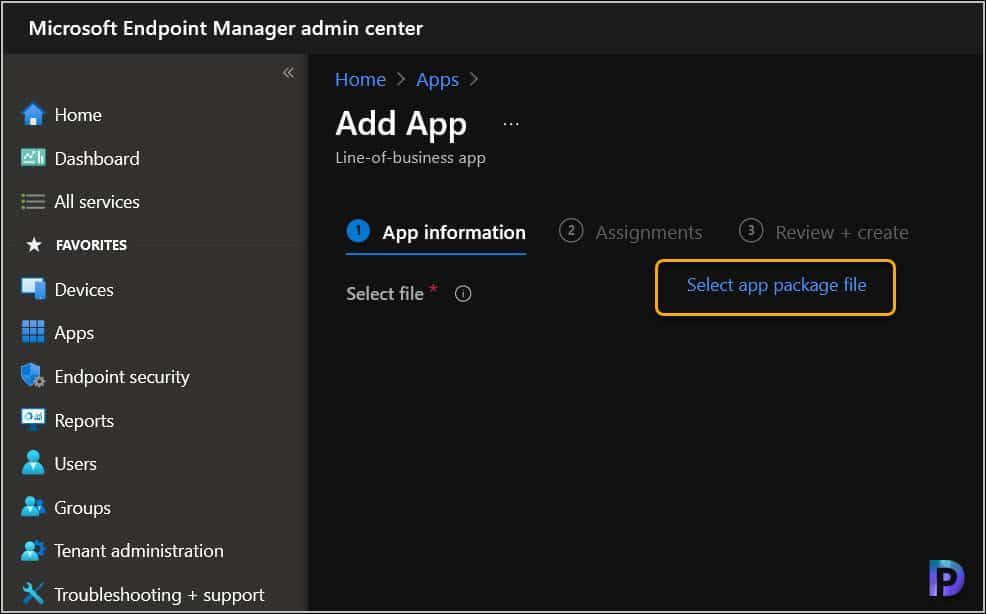 Deploy Slack with Intune