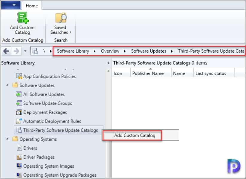 How to Add Adobe Custom Catalog in SCCM