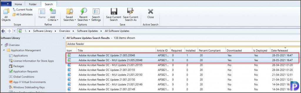 Adobe Reader Updates in SCCM