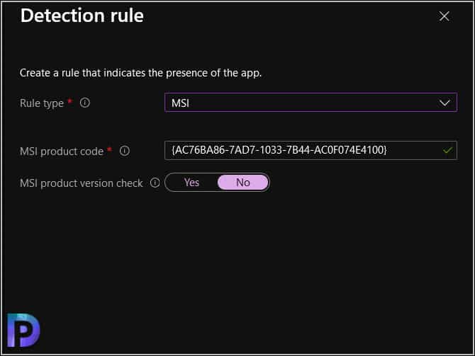 Specify Detection Rules