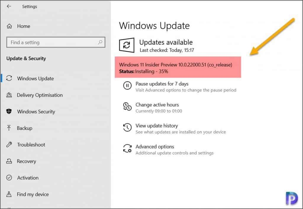 Get Windows 11 Insider Preview