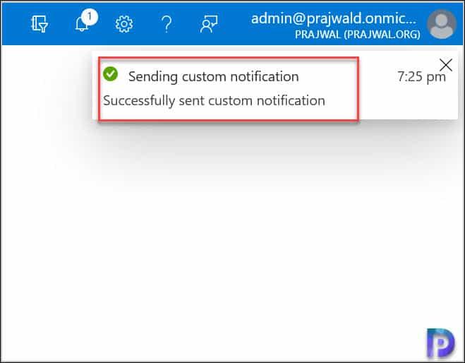 Intune Custom Notifications