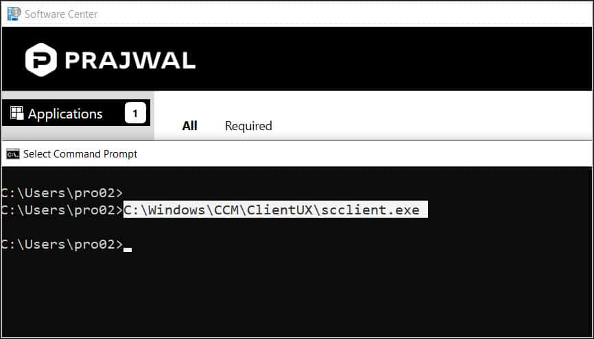 Launch Software Center from Command Line