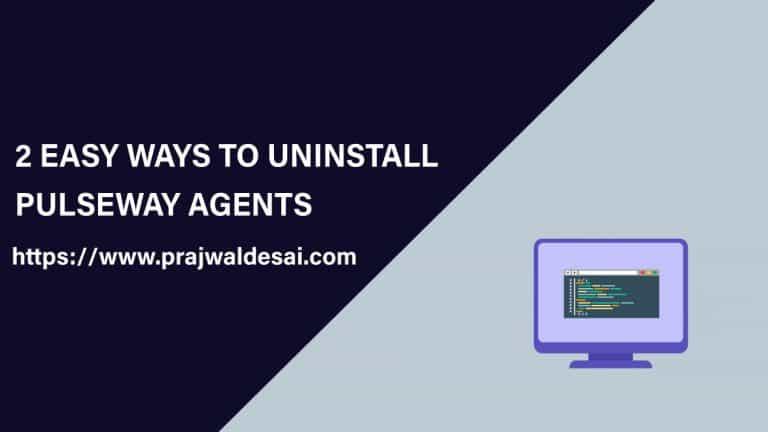 2 Best Ways to Uninstall Pulseway Agent
