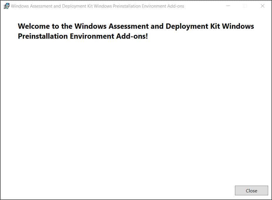 Install Windows 11 ADK Snap9
