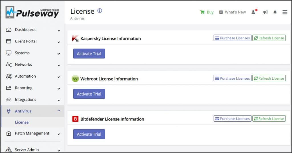 Pulseway Antivirus and Endpoint Protection