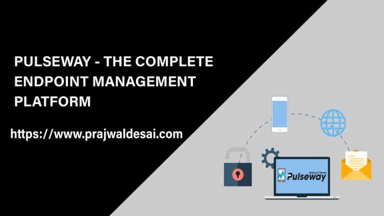 Pulseway Endpoint Management Platform