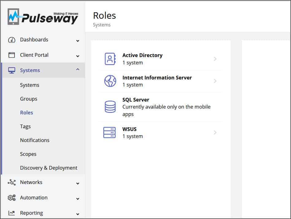 Pulseway Server Monitoring and Management software