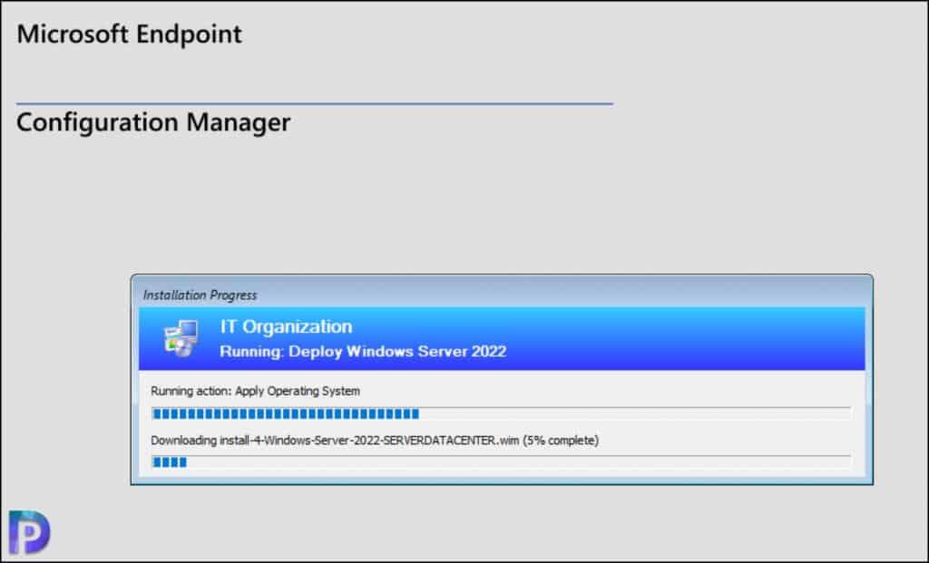 Deploy Windows Server 2022 using SCCM