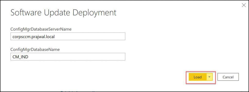 Software Update Deployment Report