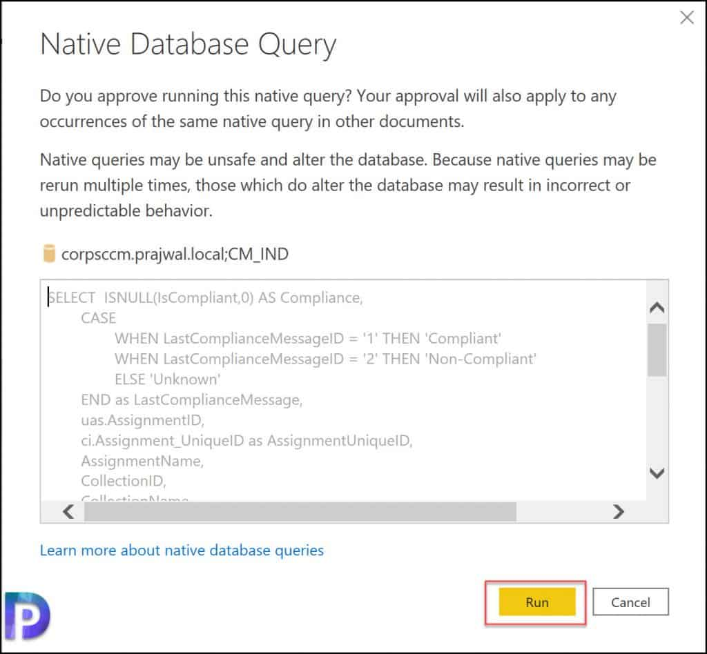 Native Database Query