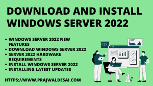 Download and Install Windows Server 2022