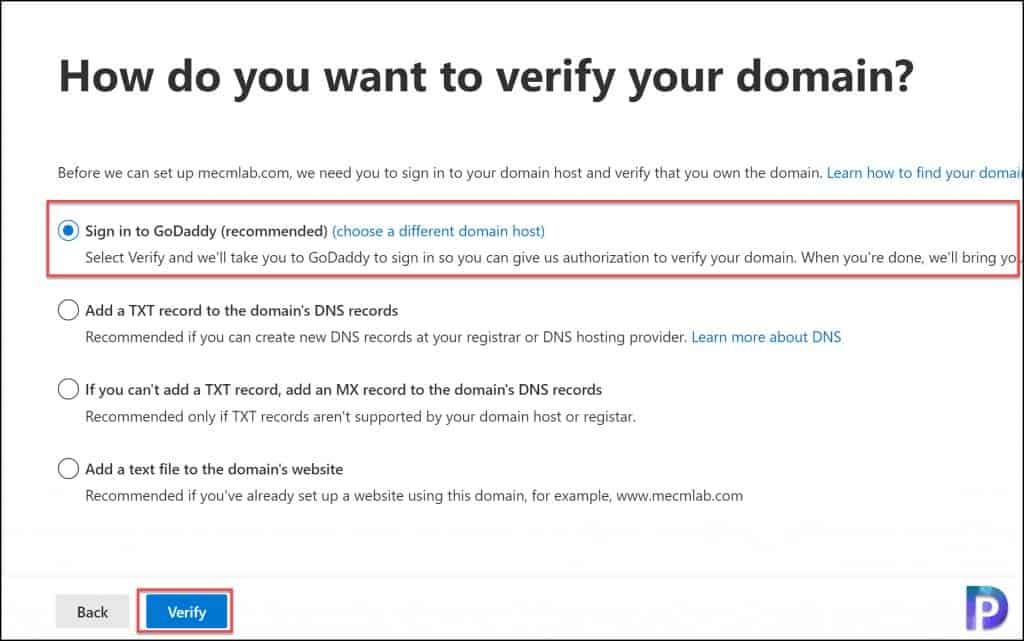 Add New Domain to Microsoft 365