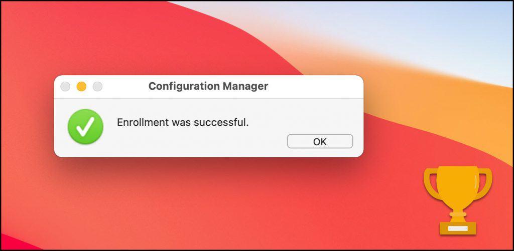 Install ConfigMgr Agent on macOS Big Sur