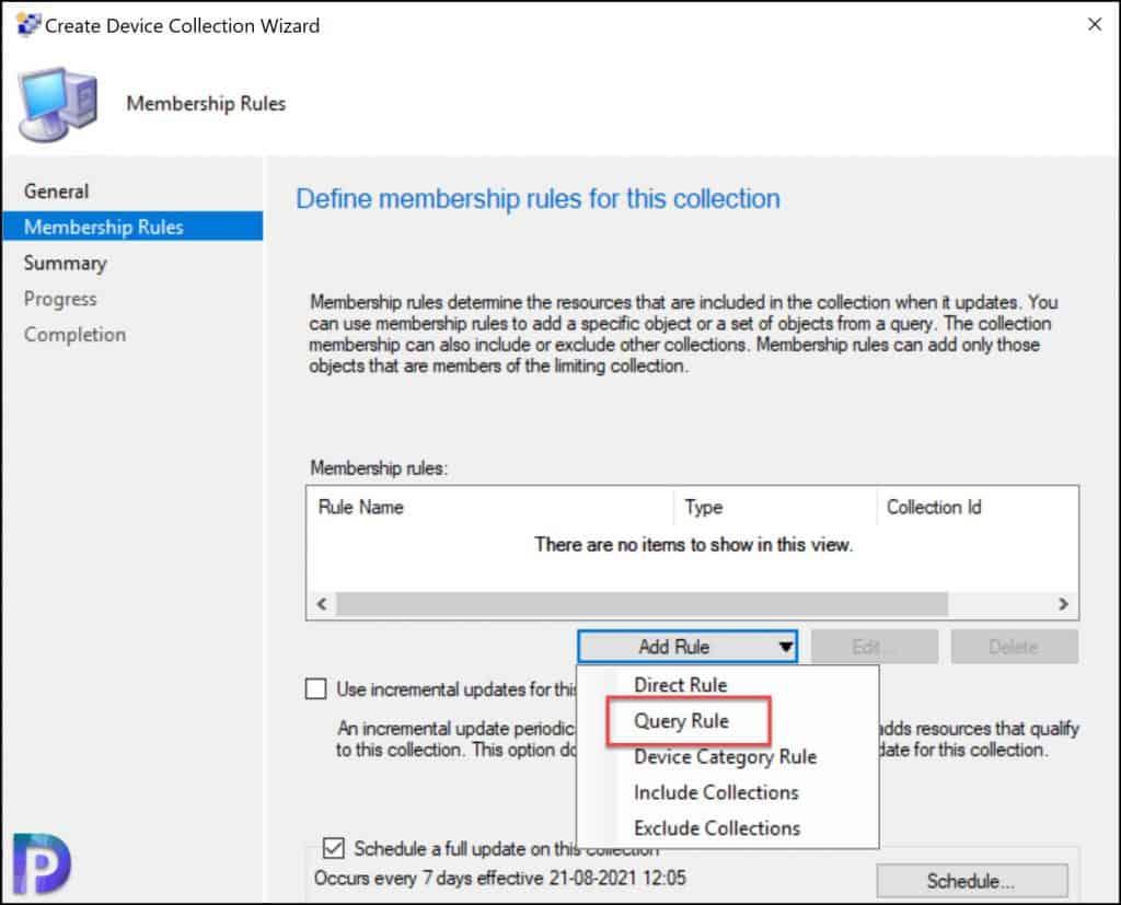 Create SCCM Windows Server 2022 Device Collection