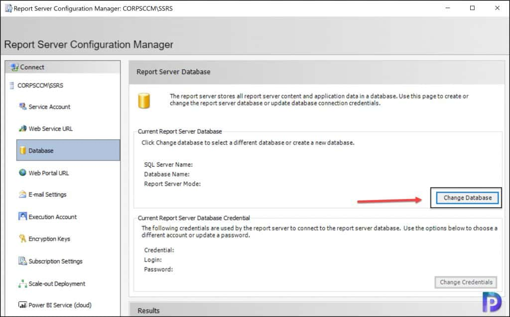 Reporting Server Configuration Manager