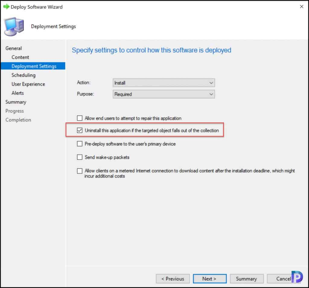 Implicit Uninstall of Applications-New Features in SCCM 2107