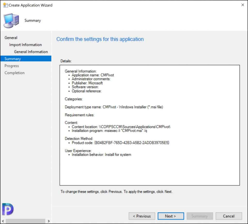 Create and Deploy CMPivot Standalone App using SCCM