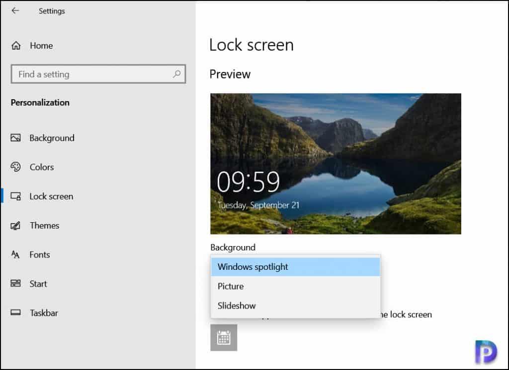 Manually turn off Windows Spotlight locally
