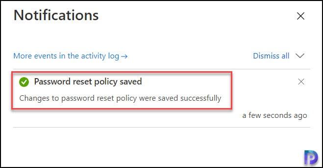 Enable Azure AD Self-Service Password Reset