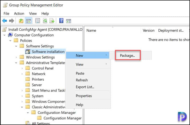 Install SCCM Client Agent on Windows 11 Using GPO