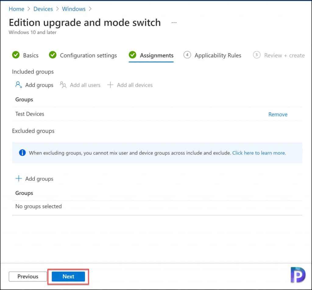 Upgrade Windows 10 Edition using Intune