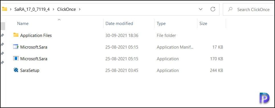 Microsoft SaRA Desktop Client