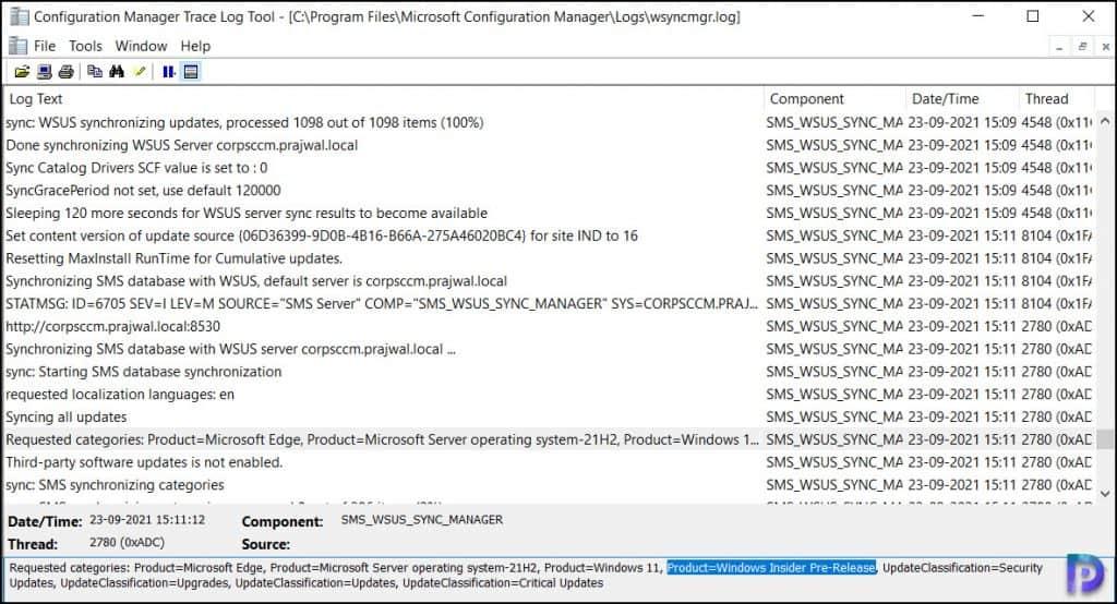 Windows 11 Patching using SCCM
