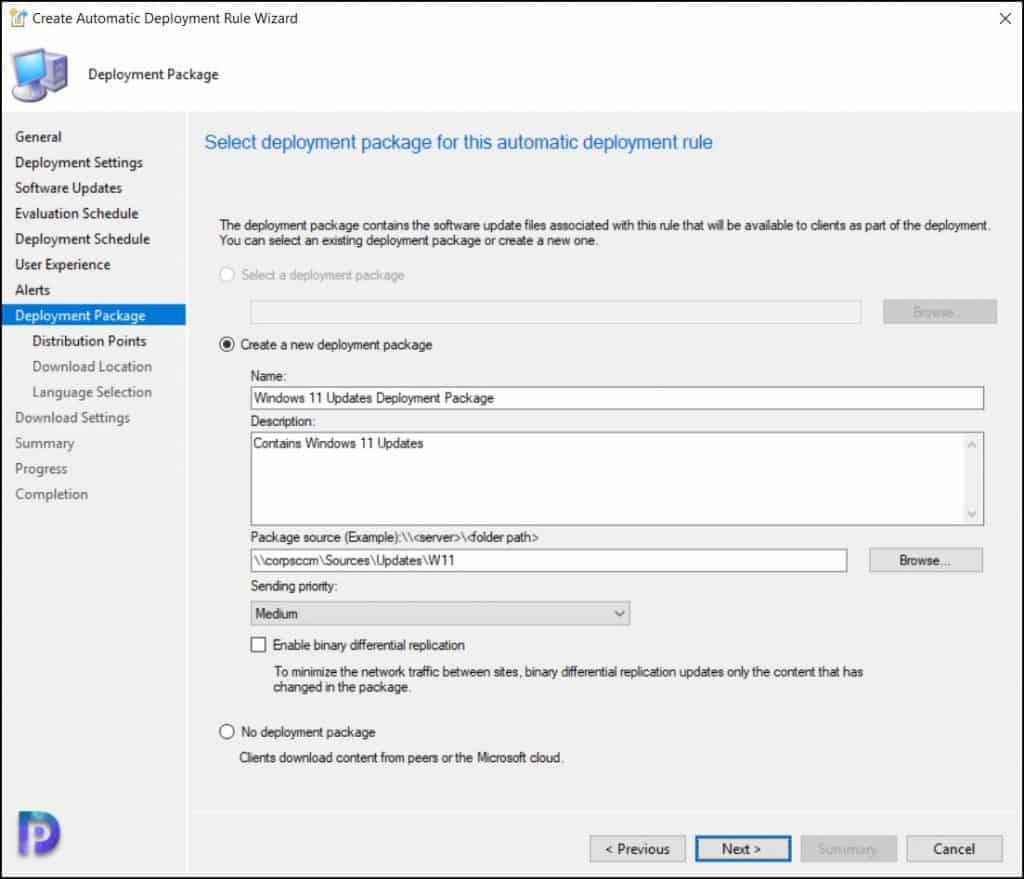 Windows 11 Updates Deployment Package