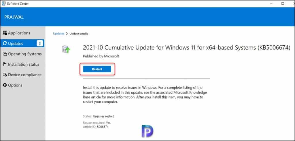 Test the Windows 11 Updates Deployment