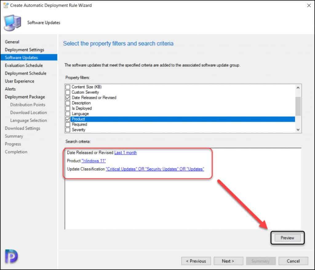 Windows 11 Updates Criteria