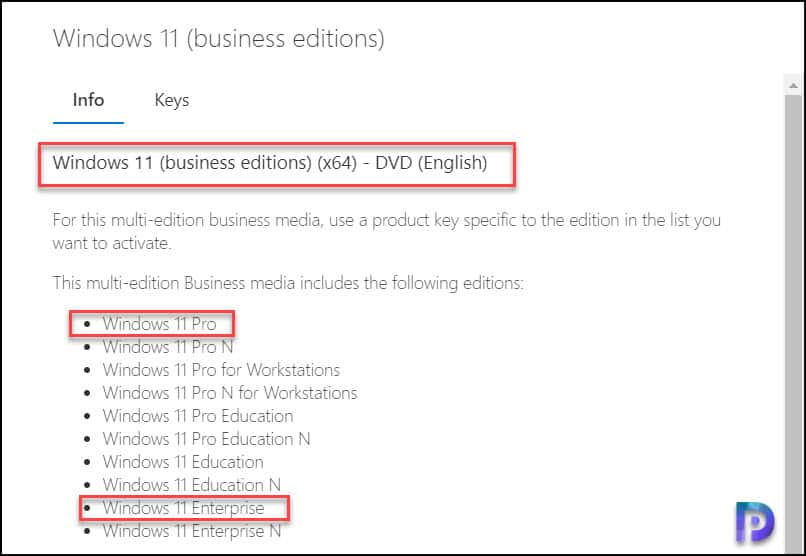 Download Windows 11 ISO from MSDN or VLSC