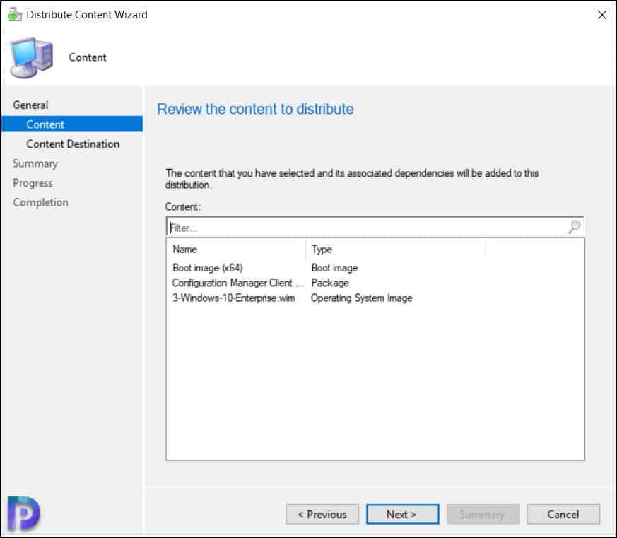 Distribute Windows 11 Task Sequence to SCCM Distribution Points