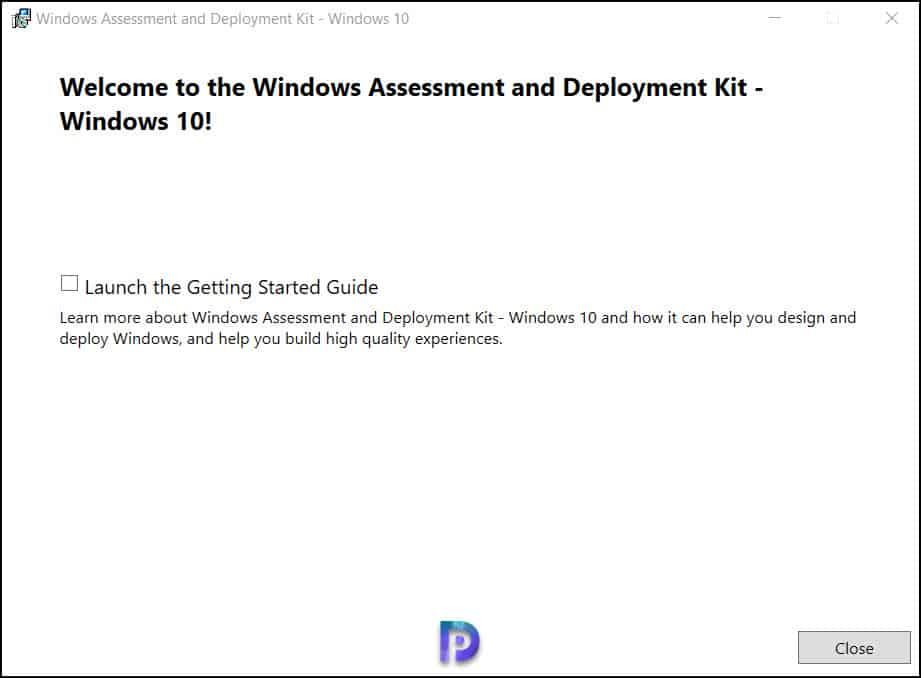 Install Windows ADK for Windows Server 2022