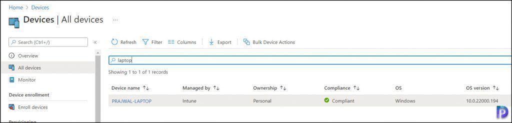 Windows 11 enrollment in Intune