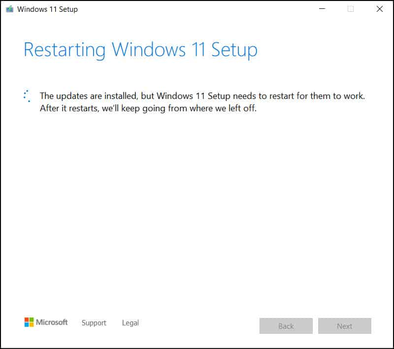 Upgrade to Windows 11 using ISO Installation Media