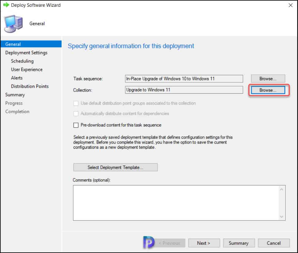 Deploy Windows 11 In-Place Upgrade Task Sequence