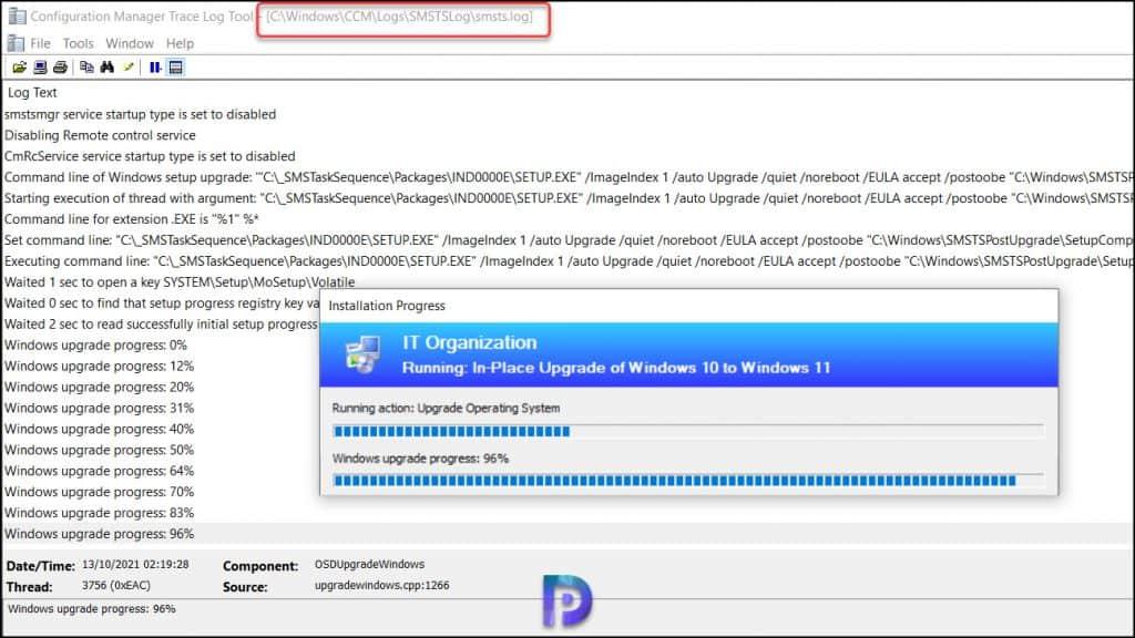 Upgrade to Windows 11 using SCCM